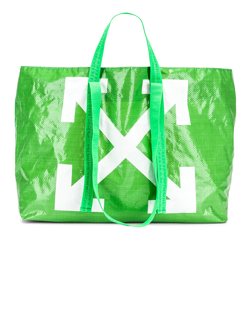 OFF-WHITE New Commercial Tote Bag   MALIBU MART